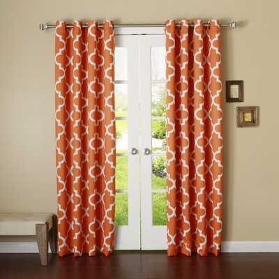 Moroccan Print Room Darkening Single Panelby Best Home Fashion, Inc. - Wayfair