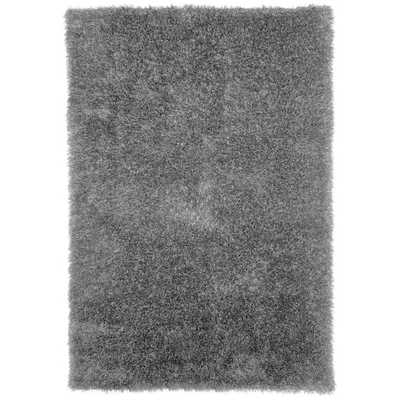 "Windsor Home Shag Area Rug - Grey - 5'3""x7'7"" - Overstock"