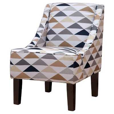 "Hudson Swoop Arm Chair - Thresholdâ""¢ - Target"