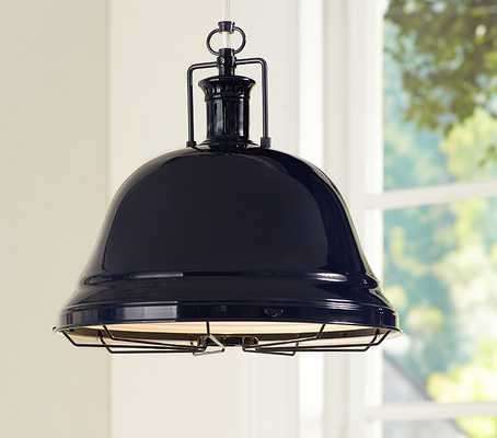 Navy Depot Hanging Pendant - Pottery Barn Kids