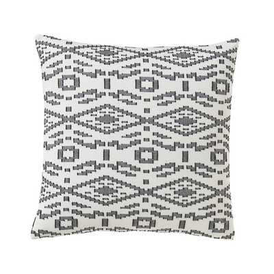 TANGIER GEO INK PILLOW - 22x22 - With Insert - Dwell Studio