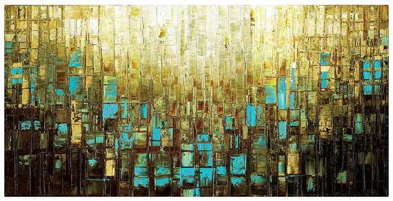 "Abstract Art - 30"" x 60"" - Unframed - Etsy"