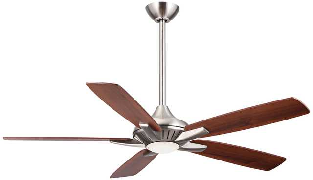 "52"" Minka Aire DYNO Brushed Nickel Ceiling Fan - Lamps Plus"