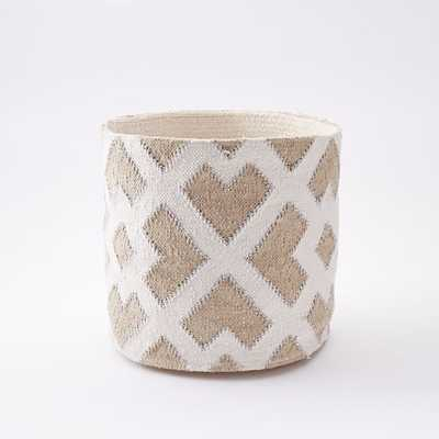 Woven Geo Baskets - West Elm