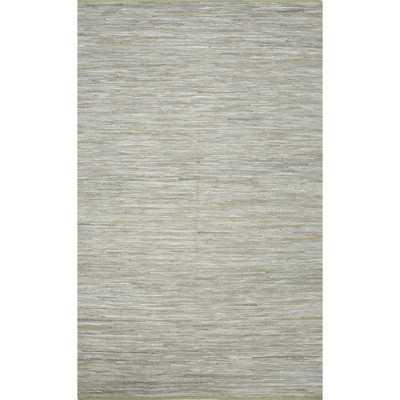 Handmade Casual Solid Pattern Jadeite/ Jadeite (9' x 12') Area Rug - Overstock