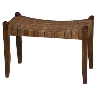 Saddler One Seat Bench-Chestnut - Wayfair