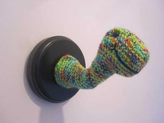 Crochet Wool Stuffed Dinosaur Trophy Head - Etsy