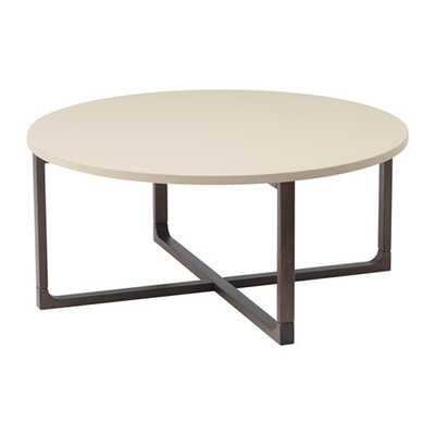 RISSNA Coffee table, beige - Ikea