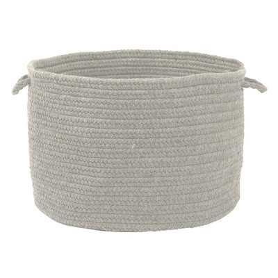 Bristol Storage Basket - Gray - Wayfair