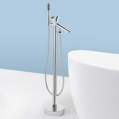 AKDY Freestand Floor Mounted AZ8711A Clawfoot Bathtub Faucet. - Amazon