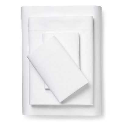 Vintage Washed Sheet Set - King - White - Target