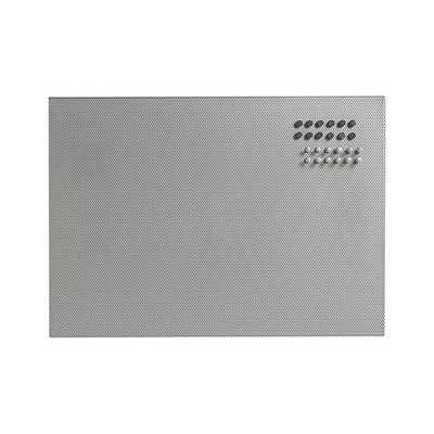 Mesh Silver Bulletin Board - Crate and Barrel
