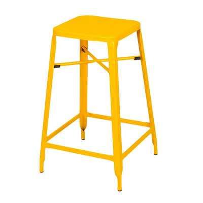 Bar Stool - Yellow - Wayfair