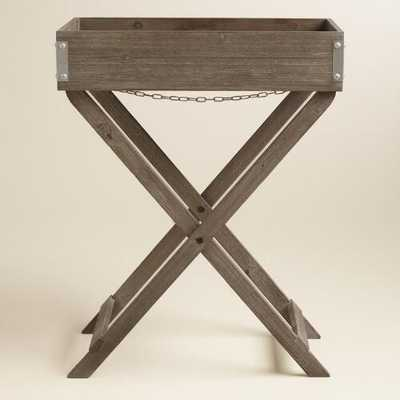 Zoey Butler Tray and Stand - World Market/Cost Plus