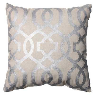 "Perfect Geometric Throw Pillow - 16.5""x16.5"" - Polyester fill insert - Target"