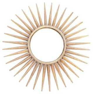 Sunburst Wall Mirror - One Kings Lane