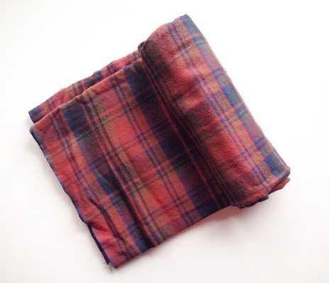 Rustic Flannel Plaid Throw Blanket - Etsy