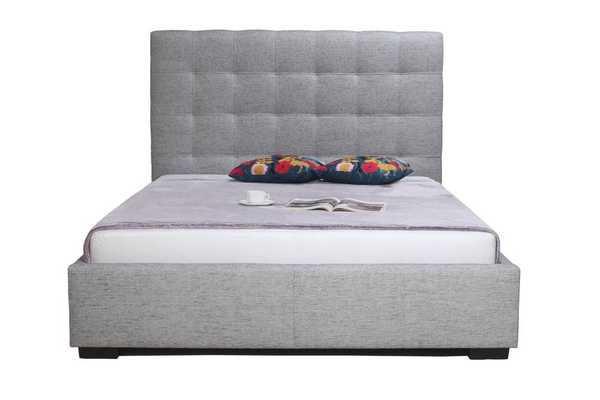 Belle Upholstered Storage Bed- king - Domino