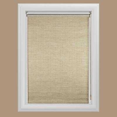 Panama Natural Light Filtering Roller Shade - Home Depot