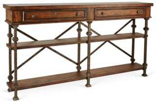 Belgian Cross Console - One Kings Lane