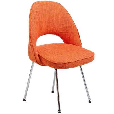 Cordelia Dining Side Chair in Orange - Domino