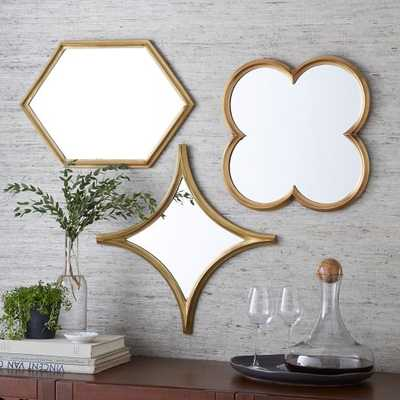 Monte Mirrors- Set Of 3 - West Elm