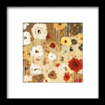 "Flower Dance I Framed Wall Art -27""  square-32"" square - Home Decorators"