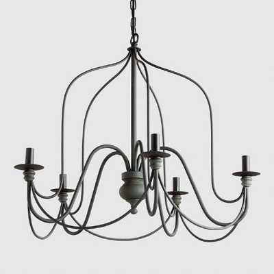 Rustic Wire Chandelier - World Market/Cost Plus