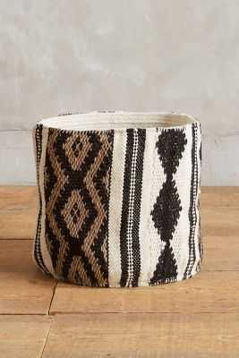 Tapestry Basket - Anthropologie