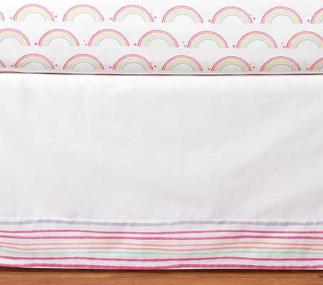 Rainbow Crib Skirt - Pottery Barn Kids