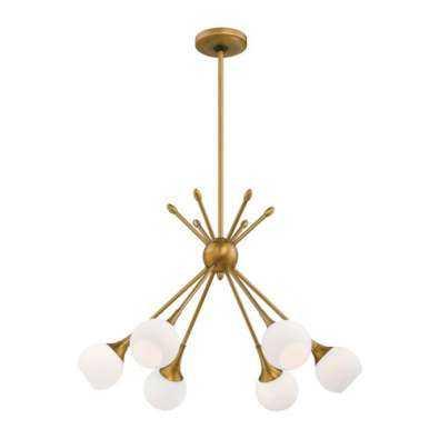 Pontil 6 Light Chandelier - Y Lighting