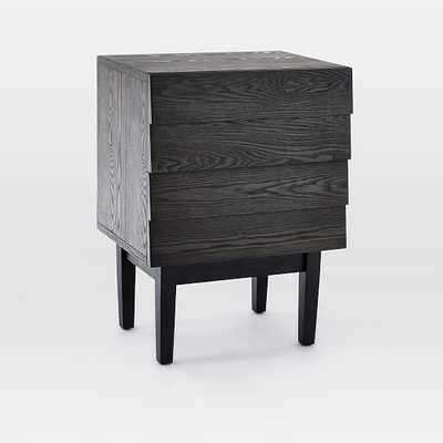 Louvered 2-Drawer Nightstand - West Elm