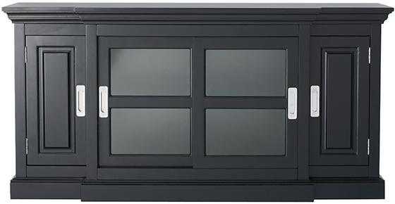 Lexington TV Stand - Black - Home Decorators