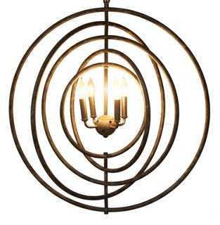Brooks 4-Light Pendant - One Kings Lane
