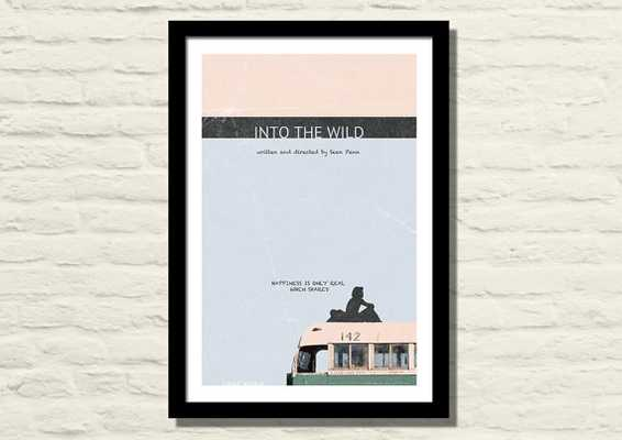 Into The Wild Movie Poster, Art Print, 11 X 17 - Unframed - Etsy