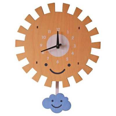 SUN PENDULUM CLOCK - modmoose.com