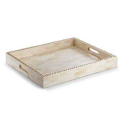 Studded Bone Tray - Frontgate