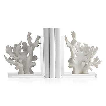 Coral Bookends - Set of 2 - Z Gallerie