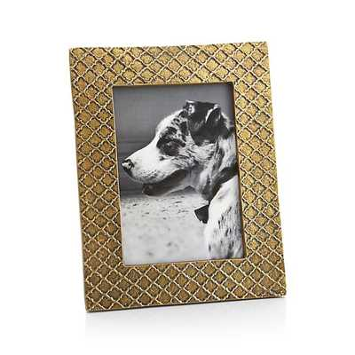 Melina 5x7 Picture Frame - Crate and Barrel