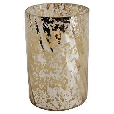 """Antique Gold Candle Holder - 8.25"""" - Target"""