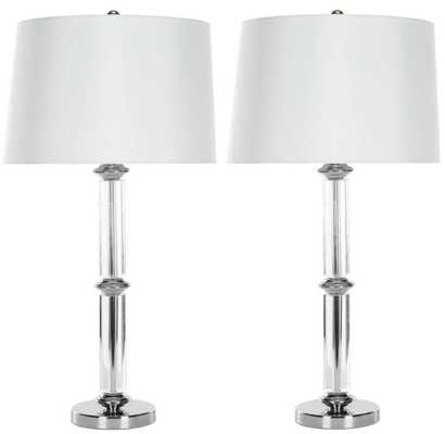 Vendome Crystal Table Lamp - Set of 2 - Domino