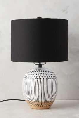 Uteki Painted Lamp Ensemble - Medium - Anthropologie