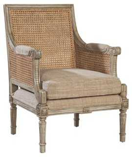 Clifton Armchair, Bisque - One Kings Lane