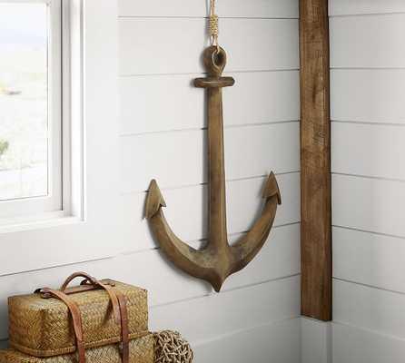 Wooden Anchor Wall Art - Pottery Barn
