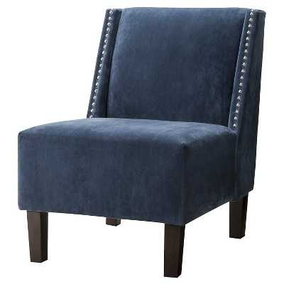 Hayden Armless Chair - Midnight blue - Target