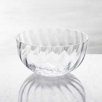 Julia Large Glass Serving Bowl - Crate and Barrel