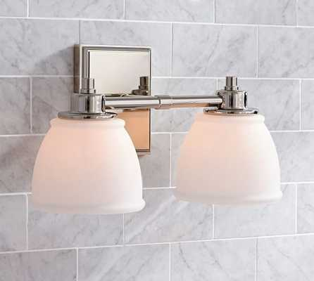 HAYDEN TRADITIONAL DOUBLE SCONCE - Pottery Barn