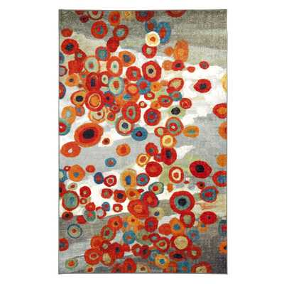 Mohawk Home Tossed Floral Multi Rug - Overstock