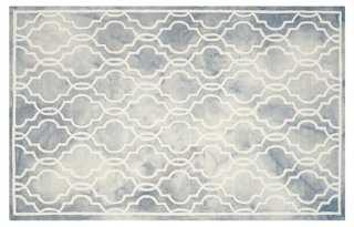 Harbin Rug, Gray/Ivory - One Kings Lane