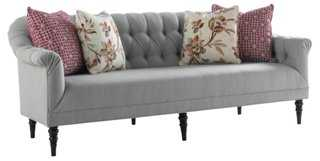 Gentry Tufted Sofa - One Kings Lane